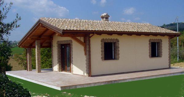 Casa legno e muratura